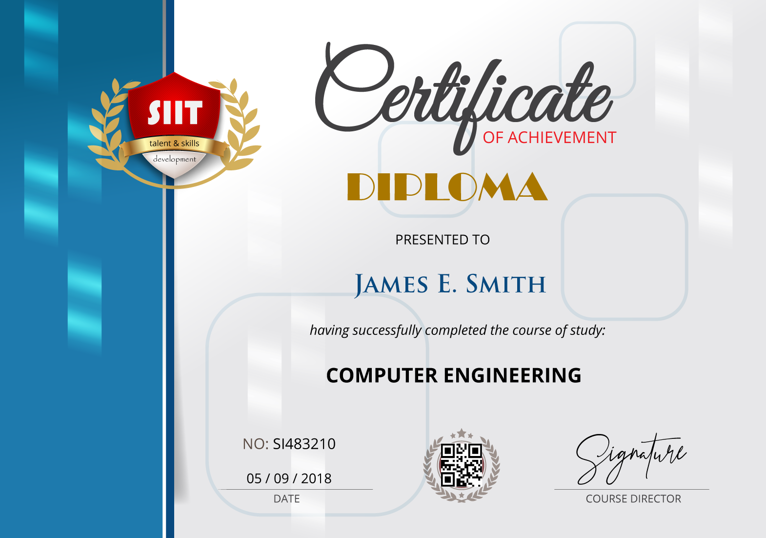 Certification information siitgo sample preview click here yadclub Images